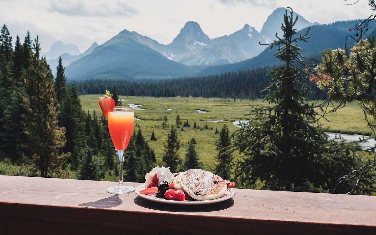 Brunch Mount Engadine Canmore2