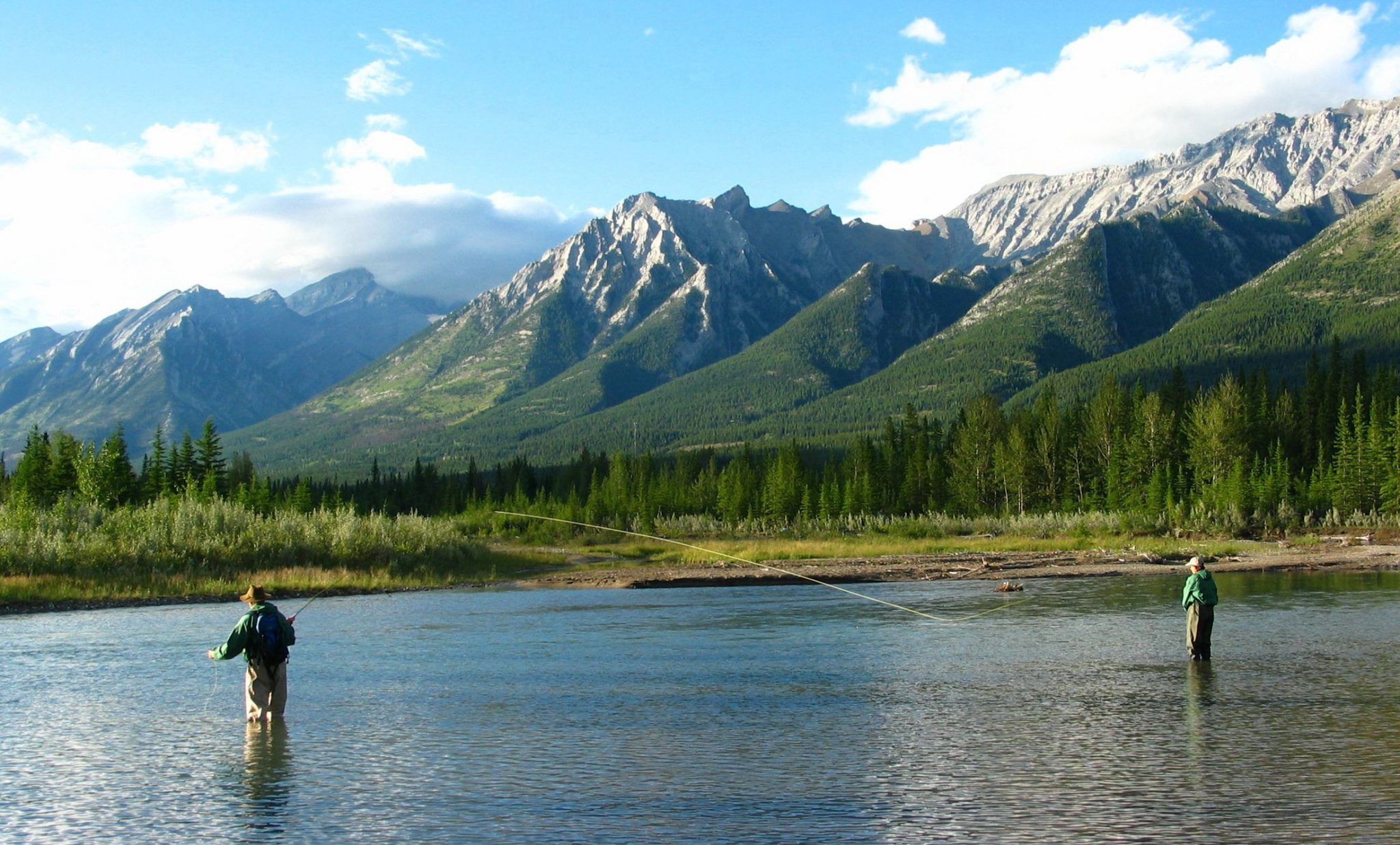 Wapiti Mount Engadine FIshing